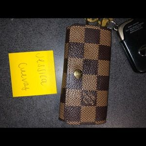 4 key holder damier ebene